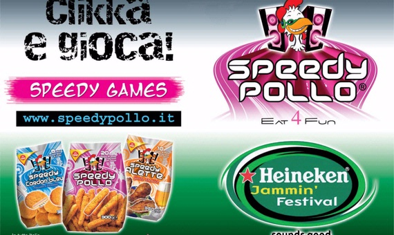 Speedy Pollo all'Heineken Jammin' Festival!