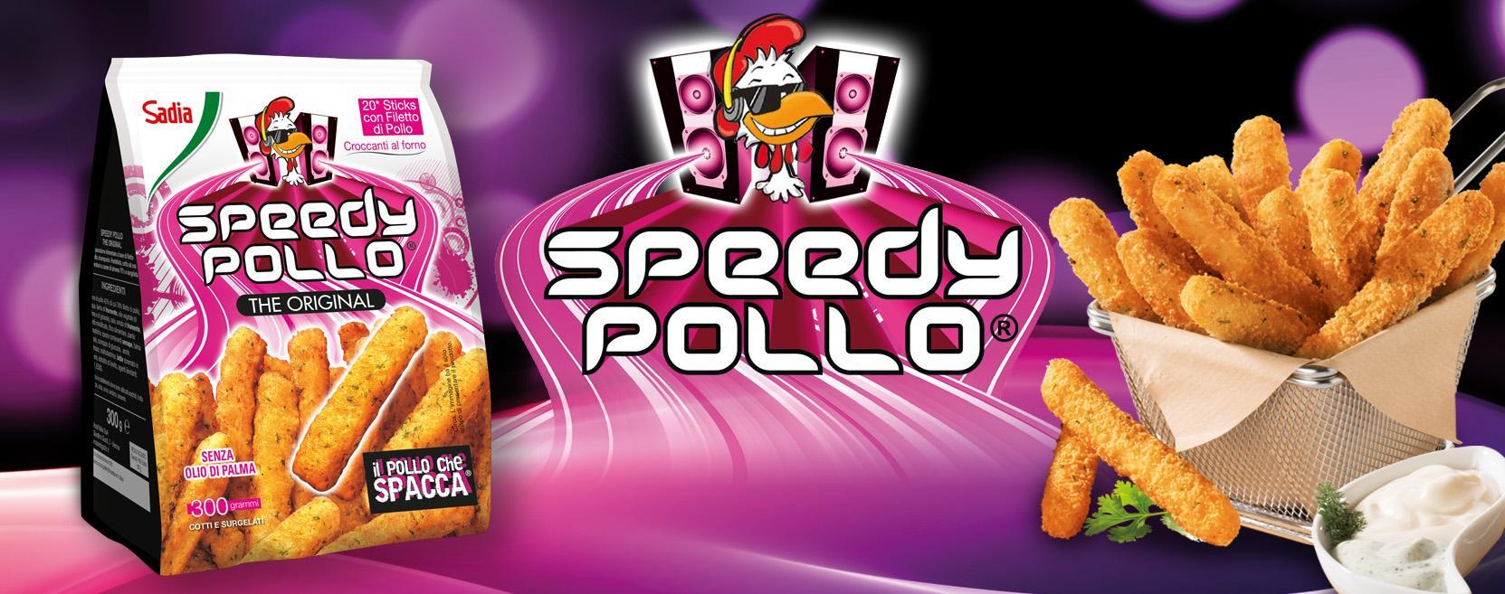 Speedy Pollo nuovo pack