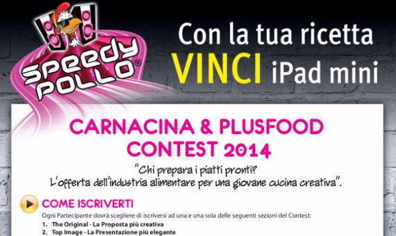 Carnacina & Plusfood Contest 2014