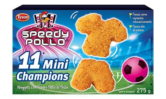 In campo con Speedy Pollo - 11 Mini Champions!